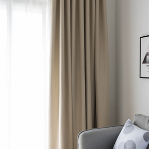 Monad Luxury Fancy Design Solid Drapes Decorative Door Window Curtains For Hotel