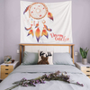 Monad 3D Night Feather Dreamcatcher Items Fabric Wall Hanging Designs Tapestry For Decor