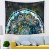 Wholesale African Print Mandala Indian Colorful Decorative Hanging Tapestry
