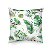 Monad Amazon Hot Green Selva 100% Polyester 18 Printed Leaves Cushion Cover