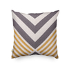 Monad 100% Cotton Set of 5 Designs Patterns Geometric Embroidery Decorative Pillow Cushion Cover