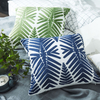 Monad Luxury Chinese Embroidered 60 x 60 Green Pillow Cushion Cover