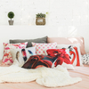 Flamingo Popular Upholstery Decorative Polyester Cotton Pillow Cushion Covers