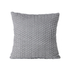 Monad Nordic Home Decorative Plain Velvet Embroidered Cushion Covers For Sofa