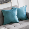 Monad Wholesale Nordic Decorative Plain Velvet Cushion Covers For Sofa